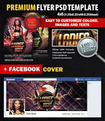 ladies night psd flyer template styleflyers ladies night psd flyer template