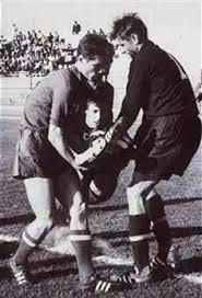 USSR 2 Yugoslavia 0 in 1962 in Arica. Soviet defender Eduard ...