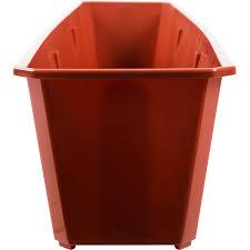 <b>Ящик</b> балконный <b>80х17х15</b> см, 12.5 л, пластик, Коричневый в ...