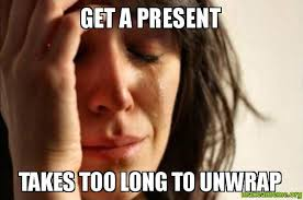 Christmas presents on Pinterest | Meme, Presents and Present Wrapping via Relatably.com