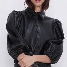<b>puff</b> sleeve leather <b>jacket</b> с бесплатной доставкой на AliExpress