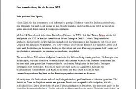 sample german cover letter writing a speculative cover letter