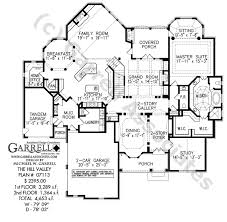 Hill Valley House Plan   Country Farmhouse Southernhill valley house plan   st floor plan