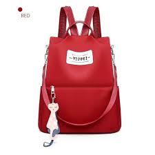 <b>Women</b> Hot Style Portable Satchel <b>Backpack</b> Lady <b>Fashion Solid</b> ...