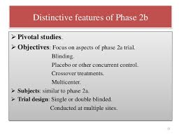 Phases in clinical trial