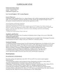 Resume Examples Summary Brefash