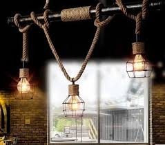northern europe vintage pendant oak wood retro lamp 120cm