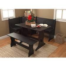 piece black dining set