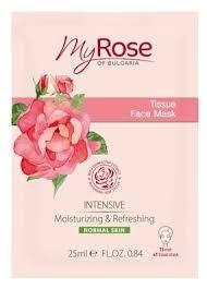 Lavena <b>тканевая маска</b> My Rose of Bulgaria с <b>интенсивным</b> ...