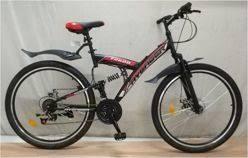 """<b>Велосипед</b> 26"""" <b>AVENGER</b> F260, черный/синий, <b>18</b>"""""""
