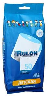 <b>Влажная туалетная</b> бумага Mon Rulon <b>Детская</b> — купить по ...