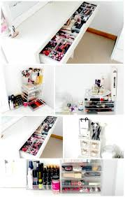 storage ideas table  ideas about dressing table organisation on pinterest dressing tables