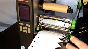 Instructions: Printing stick-in labels on the thermal transfer printer ...