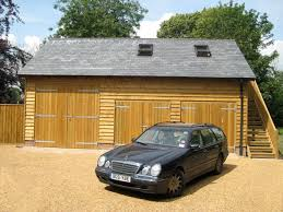 bespoke brickwork garage with office above timberframe garage construction timber garage timber garage bespoke brickwork garage office