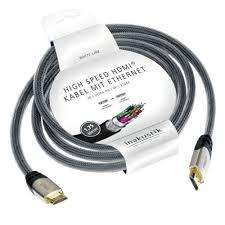 <b>Кабель HDMI INAKUSTIK</b> White, 1.75 м — купить в интернет ...