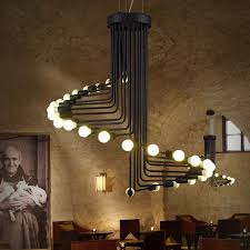 Online Shop Large Pendant Lights Vintage Industrial Lighting ...