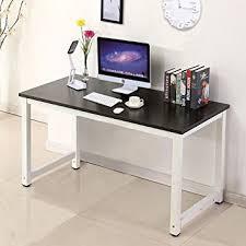 wood black computer desk pc laptop table workstation study home office furniture black home office laptop
