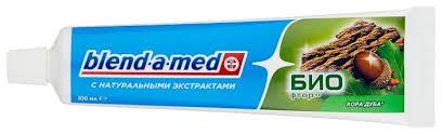 <b>Зубная паста Blend</b>-a-<b>med</b> БИО фтор <b>Кора</b> дуба — купить по ...