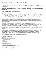 cover letter research associate template cover letter research associate