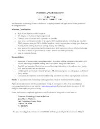 certified welder resume template certified welder resume