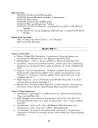 CV Broeckelman Post      Mar   Ohio University