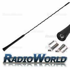 <b>Car Aerial Antenna</b> Mask Replacement <b>41cm Universal</b> FOR Ford ...
