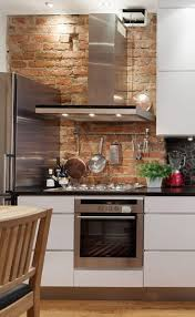 industrial residential incredible kitchen brown