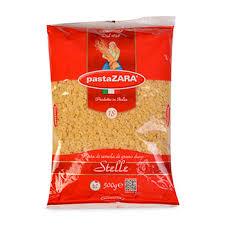 <b>Макаронные изделия Pasta Zara</b> №18 звездочки, 500 г Италия ...