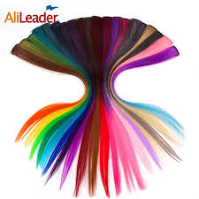 Alileader <b>Rainbow Straight</b> one Clip In One Piece Synthetic ...