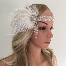 Headbrand <b>1pcs</b> flapper headband adult costume <b>halloween</b> fancy ...