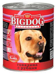 """168 отзывов на <b>Консервы</b> для собак <b>Зоогурман</b> """"<b>Big Dog</b>"""", с ..."""