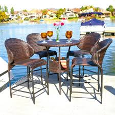 size bar height patio table