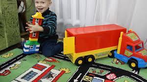 <b>Игрушка</b> машинка <b>Wader Super Truck</b> большой грузовик с прицепом