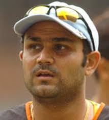 Fans call him Viru, Prince of Najafgarh, etc... He is a right-arm off-spin bowler as well. He leads Delhi Daredevils team on IPL matches. - sehwag