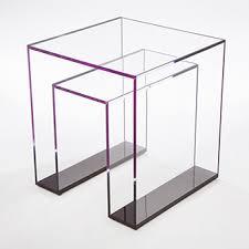 brilliant acrylic side table acrilic furniture