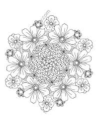 Small Picture The 25 best Flower coloring pages ideas on Pinterest Mandala