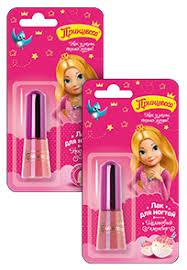 <b>Детский лак для</b> ногтей «Принцесса» светло-розовый – купить ...