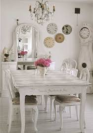 shabby chic dining room furniture chic dining room table