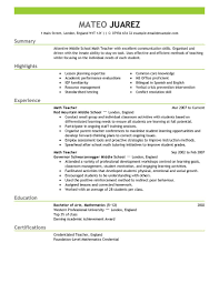 Resume Service Teachers Free Sample Cover Letter Customer Service