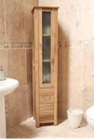 baumhaus mobel oak closed bathroom unit tall baumhaus mobel oak large 6