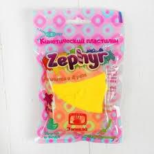 """<b>Кинетический пластилин</b> """"<b>Zephyr</b>"""" желтый 0,075 кг (3779916 ..."""