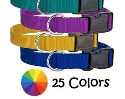 <b>Nylon dog collar</b>   Etsy