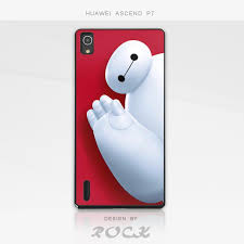 for Huawei Ascend P7 Big Hero 6 Six BAYMAX PC Material Hotsale ...