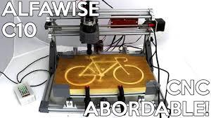 Graveuse CNC <b>Alfawise C10</b>: Test, démonstration et tutoriel ...
