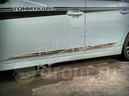 <b>Хромированные молдинги на</b> двери Prius 30 кузов ZVW30 - GT и ...