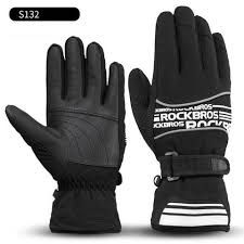 <b>ROCKBROS</b> Ski Gloves <b>Touch Screen</b> Cycling Motorcycle ...