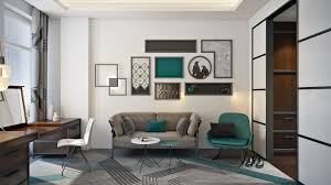 3d interior modeling for bedroom and home office project view01 bedroom home office view