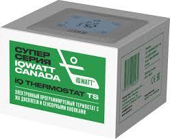 <b>Терморегулятор IQ Watt</b> Thermostat TS белый купить в магазине ...