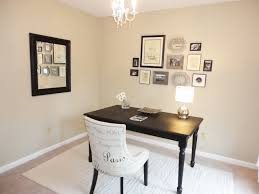 cool interior minimalist rustic white home office design feats modish white chair and black vintage wood charming cool office design