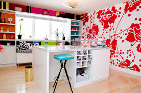 bright and beautiful craft room contemporary home office beautiful bright office